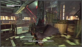 You will be able to approach this side mission after completing Locate Joker in the Steel Mill - Hot and Cold | Side missions - Side missions - Batman: Arkham City Game Guide