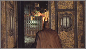 Head to the door in the south-east part of the Loading Bay main room #1 - Hot and Cold - Side missions - Batman: Arkham City - Game Guide and Walkthrough
