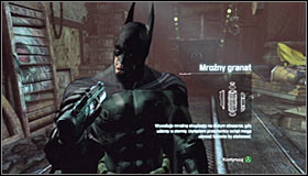 After the fight, head to the northern part of the Boiler Room and look for a small crate #1 - Hot and Cold | Side missions - Side missions - Batman: Arkham City Game Guide