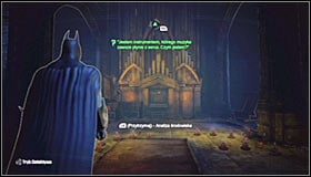 3 - Enigma Conundrum (riddles 1-9) - Side missions - Batman: Arkham City - Game Guide and Walkthrough