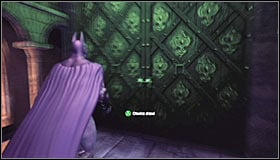 Stand in front of the organs and hold down LB to scan them #1 and therefore complete this riddle - Enigma Conundrum (riddles 1-9) | Side missions - Side missions - Batman: Arkham City Game Guide
