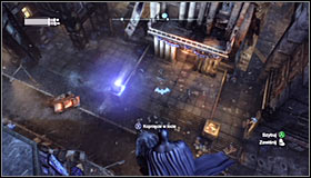Head to the well-known Solomon Wayne Courthouse - Enigma Conundrum (riddles 1-9) | Side missions - Side missions - Batman: Arkham City Game Guide