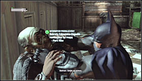 Regardless of the chosen passage, you will need to reach the middle room of the Courthouse, inside which you saved Catwoman - Enigma Conundrum (riddles 1-9) - Side missions - Batman: Arkham City - Game Guide and Walkthrough