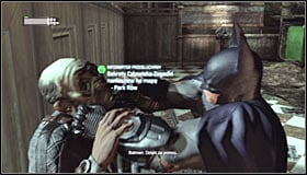 Regardless of the chosen passage, you will need to reach the middle room of the Courthouse, inside which you saved Catwoman - Enigma Conundrum (riddles 1-9) | Side missions - Side missions - Batman: Arkham City Game Guide