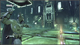 13 - Enigma Conundrum (riddles 1-9) | Side missions - Side missions - Batman: Arkham City Game Guide