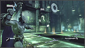 16 - Enigma Conundrum (riddles 1-9) | Side missions - Side missions - Batman: Arkham City Game Guide