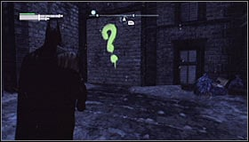 Note that a new point has appeared on the Arkham City map #1 - Enigma Conundrum (riddles 1-9) - Side missions - Batman: Arkham City - Game Guide and Walkthrough