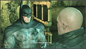 Approach William North and press A to save him #1 - Enigma Conundrum (riddles 1-9) - Side missions - Batman: Arkham City - Game Guide and Walkthrough