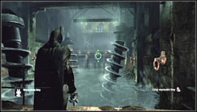 3 - Enigma Conundrum (riddles 10-15) - Side missions - Batman: Arkham City - Game Guide and Walkthrough