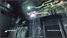 Now you will have to play with the water flow in the waterfall - Enigma Conundrum (riddles 10-15) | Side missions - Side missions - Batman: Arkham City Game Guide