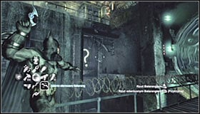 Note that therefore you have blocked the water flow in the right part of the waterfall, unveiling a question mark #1 - Enigma Conundrum (riddles 10-15) - Side missions - Batman: Arkham City - Game Guide and Walkthrough