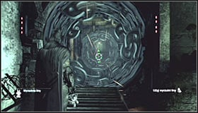Turn right and approach the newly unblocked corridor with working machinery #1 - Enigma Conundrum (riddles 10-15) - Side missions - Batman: Arkham City - Game Guide and Walkthrough