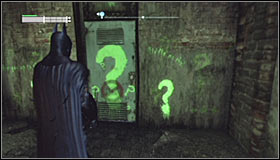 You should already know what to do here - Enigma Conundrum (riddles 10-15) - Side missions - Batman: Arkham City - Game Guide and Walkthrough