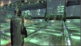 Move to the next room - Enigma Conundrum (riddles 10-15) | Side missions - Side missions - Batman: Arkham City Game Guide