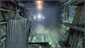 Hitting the question mark will cause the passage behind you to open #1 - Enigma Conundrum (riddles 10-15) | Side missions - Side missions - Batman: Arkham City Game Guide