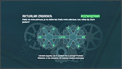 You will be able to approach the 16th riddle only after obtaining at least 320 Riddlers collectibles (collectibles + challenges) - Enigma Conundrum (riddles 16-17) | Side missions - Side missions - Batman: Arkham City Game Guide