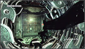 You need to be ready to change the direction to the right corridor with working machinery inside #1 - Enigma Conundrum (riddles 16-17) | Side missions - Side missions - Batman: Arkham City Game Guide