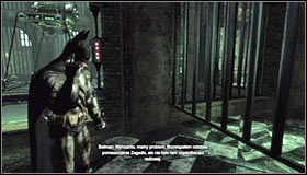 Traditionally, you have to approach the hostage and press A to save her #1 - Enigma Conundrum (riddles 16-17) | Side missions - Side missions - Batman: Arkham City Game Guide
