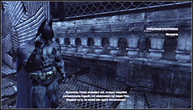 22 - Enigma Conundrum (riddles 16-17) | Side missions - Side missions - Batman: Arkham City Game Guide