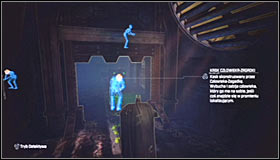 Note that the hostages from the third group are moving in the other direction, so you will have to go to the right #1 - Enigma Conundrum (riddles 16-17) | Side missions - Side missions - Batman: Arkham City Game Guide