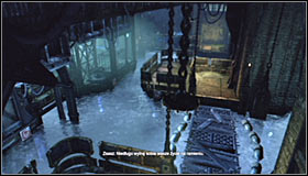 Go down the stairs - Cold Call Killer - Side missions - Batman: Arkham City - Game Guide and Walkthrough