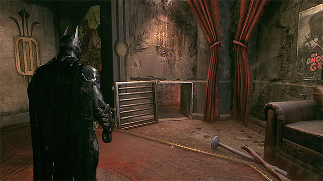 The entrance to the shaft - Breakable objects in the Panessa Studios | Collectibles - Pannesa Film Studios - Collectibles - Pannesa Film Studios - Batman: Arkham Knight Game Guide & Walkthrough