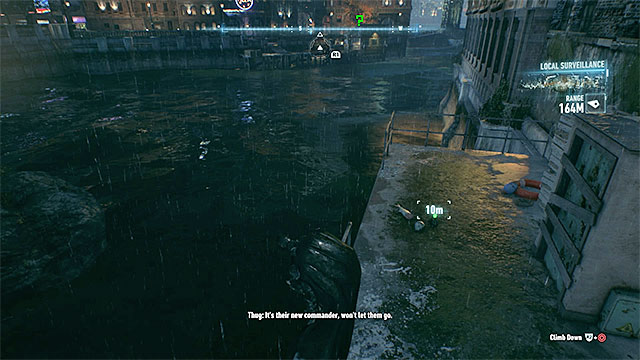 Look around for the trophy near the water - Riddler trophies on Founders Island (17-33) | Collectibles - Founders Island - Collectibles - Founders Island - Batman: Arkham Knight Game Guide & Walkthrough