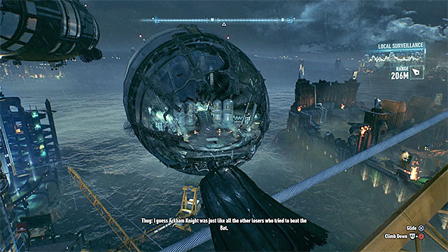 It is even easier to get on board the Beta airship - How to make it over to Stagg airships? | Collectibles - Stagg Airships - Collectibles - Stagg Airships - Batman: Arkham Knight Game Guide & Walkthrough