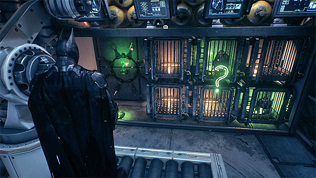 Required gadgets: remote hacking device - Riddler trophies in the Stagg Airships (11-21) | Collectibles - Stagg Airships - Collectibles - Stagg Airships - Batman: Arkham Knight Game Guide & Walkthrough