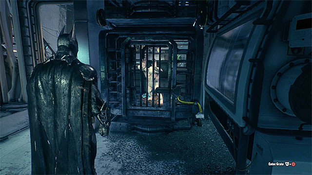 Photograph the albino in one of the cages - Riddles in the Stagg Airships | Collectibles - Stagg Airships - Collectibles - Stagg Airships - Batman: Arkham Knight Game Guide & Walkthrough