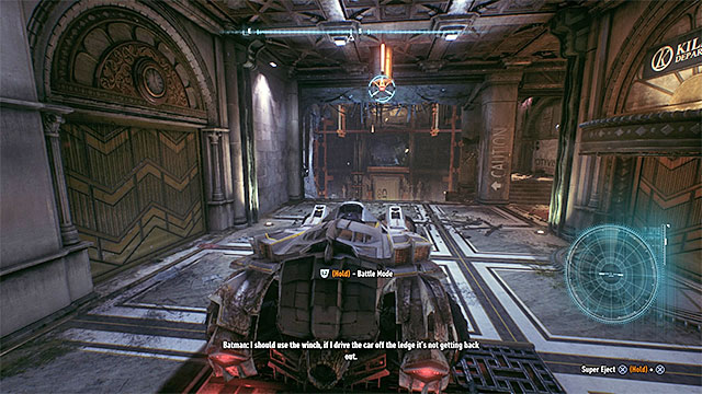 The HQ is underneath the Founders Island and you can take two different routes to get inside - the Northern one and the Southern one (both of them are marked with blue icons on the world map) - How to get to the Arkham Knights HQ? | Collectibles - Arkham Knight HQ - Collectibles - Arkham Knight HQ - Batman: Arkham Knight Game Guide & Walkthrough