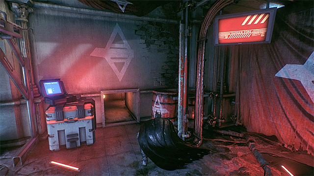The venting shaft entrance - Riddler trophies in the Arkham Knight HQ (11-21) | Collectibles - Arkham Knight HQ - Collectibles - Arkham Knight HQ - Batman: Arkham Knight Game Guide & Walkthrough