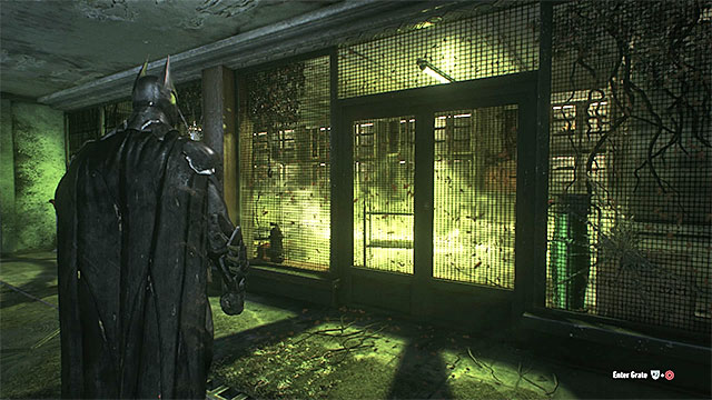 Take a picture of the insects in the yellow room - Riddles in the Arkham Knight HQ | Collectibles - Arkham Knight HQ - Collectibles - Arkham Knight HQ - Batman: Arkham Knight Game Guide & Walkthrough