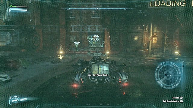 You can use the Winch on the pipe only after you use Explosive Gel and hack the terminal on the wall. - Rescue the missing ACE Chemicals workers (continued) - Main story - Batman: Arkham Knight - Game Guide and Walkthrough