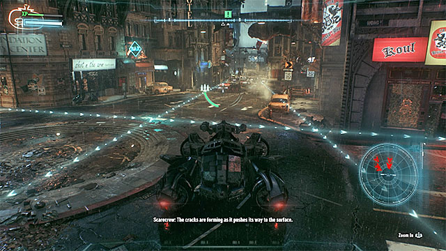 You can avoid the tanks or destroy them (which is a better idea). - Meet Gordon outside GCPD Lockup | Main story - Main story - Batman: Arkham Knight Game Guide & Walkthrough