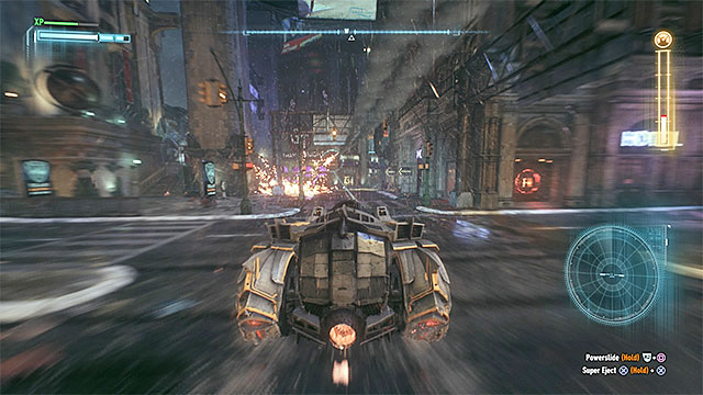 Follow the Firefly and avoid fire - Firefly | Boss fights - Boss fights - Batman: Arkham Knight Game Guide & Walkthrough