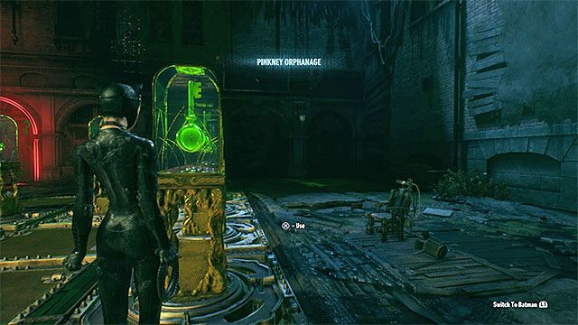 You can now return to Batman and go to the pressure plate near the panel with buttons - Second Riddler trial - Riddles and challenges - Batman: Arkham Knight Game Guide & Walkthrough