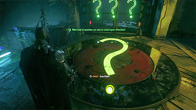 how to solve riddles in arkham knight