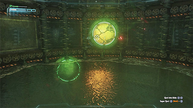 Destroy the weakened wall next to the second side-chamber. - Seventh Riddler trial - Riddles and challenges - Batman: Arkham Knight Game Guide & Walkthrough
