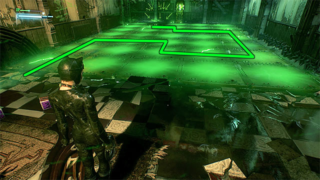 To solve the main puzzle, you need to keep switching between Batman and Catwoman on a regular basis - Eighth Riddler trial - Riddles and challenges - Batman: Arkham Knight Game Guide & Walkthrough