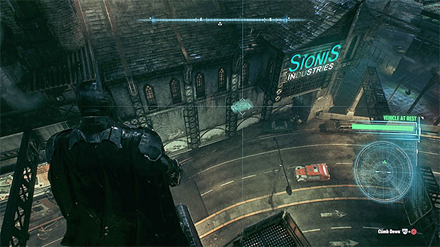 Your destination is the Sionis Industries building - Gunrunner | Side missions (Most Wanted) - Side missions (Most Wanted) - Batman: Arkham Knight Game Guide & Walkthrough