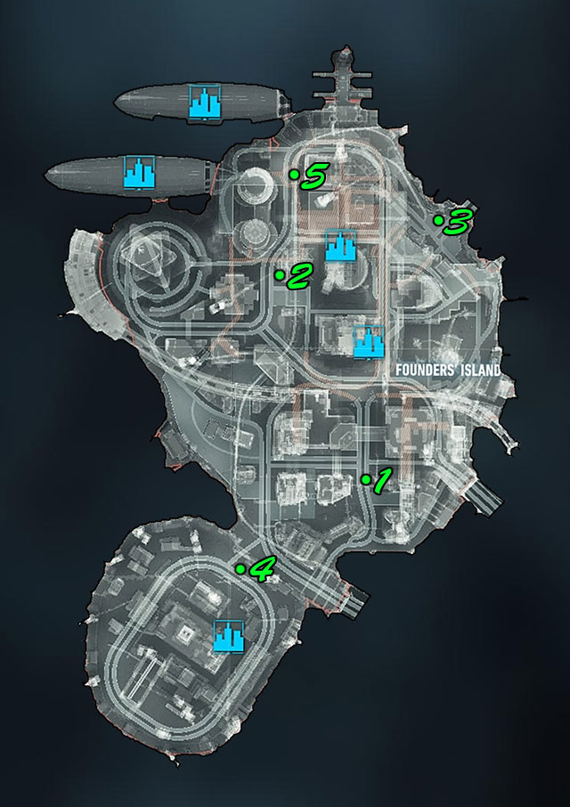 Mine 1 - The mine can be found near a crossroad and a large ramp - Campaign for Disarmament - Side missions (Most Wanted) - Batman: Arkham Knight - Game Guide and Walkthrough