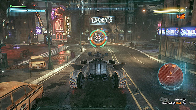Destroy Cobra tanks and avoid Deathstrokes vehicle - Campaign for Disarmament - Side missions (Most Wanted) - Batman: Arkham Knight - Game Guide and Walkthrough