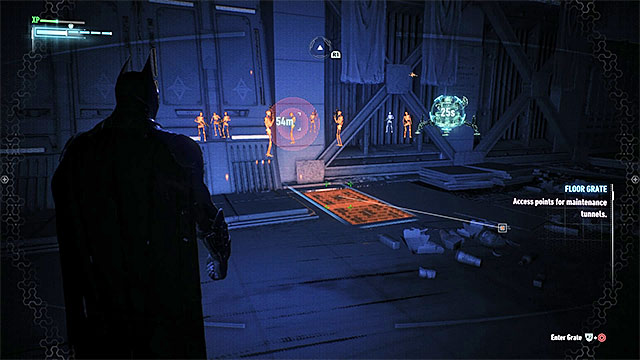 Entrance to the ventilation shaft - Own the Roads - Side missions (Most Wanted) - Batman: Arkham Knight - Game Guide and Walkthrough