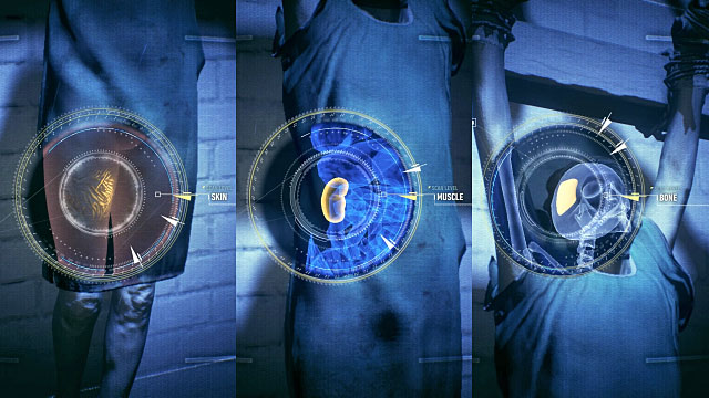 Fifth body can be found in the eastern part of Founders Island (picture 1) - The Perfect Crime | Side missions (Most Wanted) - Side missions (Most Wanted) - Batman: Arkham Knight Game Guide & Walkthrough