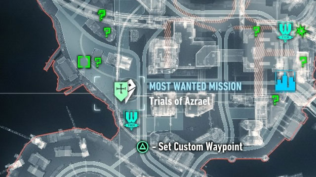 You must find the places where you participate in further trials on your own, by finding burning bat marks on rooftops - Heir to the Cowl | Side missions (Most Wanted) - Side missions (Most Wanted) - Batman: Arkham Knight Game Guide & Walkthrough