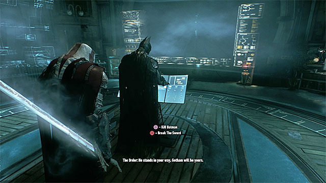 Two of three ways of acting become available after standing near Batman - Heir to the Cowl | Side missions (Most Wanted) - Side missions (Most Wanted) - Batman: Arkham Knight Game Guide & Walkthrough