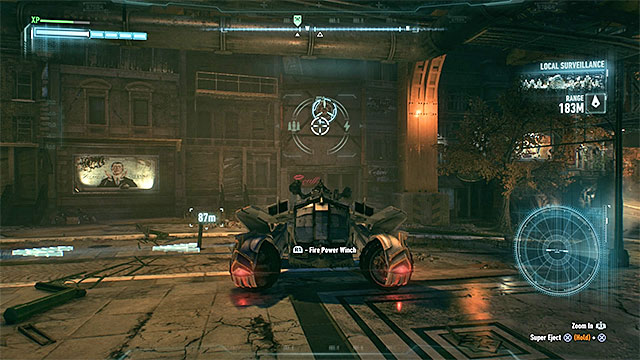 Point 3: Fireman Lozar - Reaching the imprisoned fireman isnt easy as the bandits are located inside the building - The Line of Duty - Side missions (Most Wanted) - Batman: Arkham Knight - Game Guide and Walkthrough
