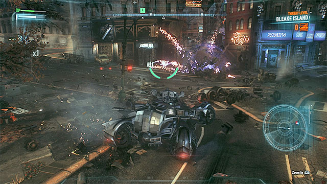 Destroy all the tanks near the Clock Tower. - Take out the militia forces guarding the Clock Tower | Main story - Main story - Batman: Arkham Knight Game Guide & Walkthrough