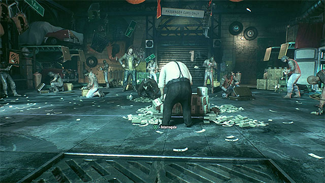 Use the ventilation shafts to get directly below Penguin - Access the weapons cache and interrogate Penguin - Main story - Batman: Arkham Knight - Game Guide and Walkthrough